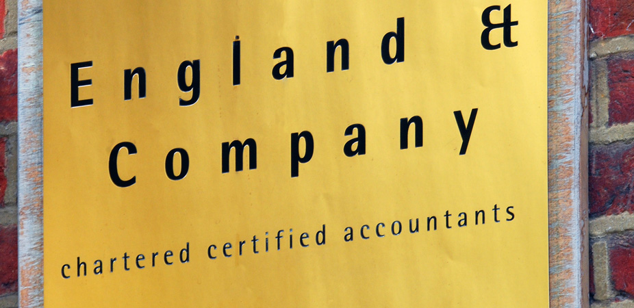 england and company certified chartered accountants