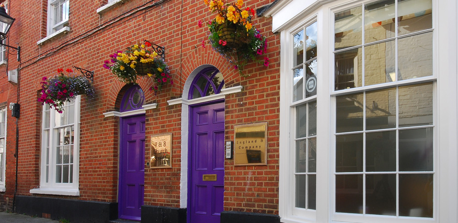 England and Company, Church Street, Wimborne