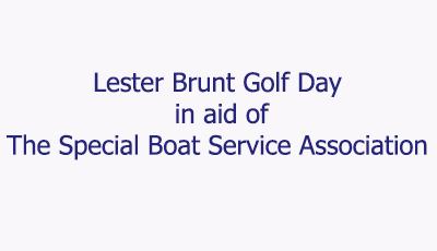 Lester Brunt Golf Day