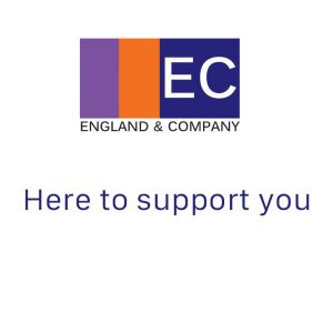 England and Company here to support you