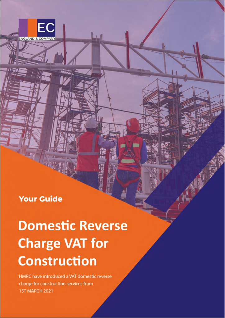 Domestic Reverse Charge VAT for Construction Guide