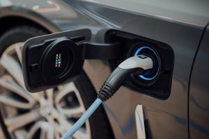 Electric charging point